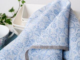 手織りリネンクロス【L-Dräll*05】の画像