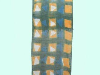 広巾綿ストールの画像