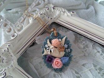 * 鳥の花冠 *  ネックレスの画像