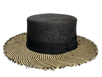 BK×NA mix  panama flat hatの画像