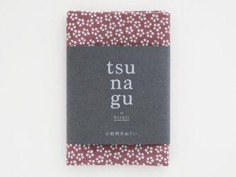 tsu na gu 小紋柄手ぬぐい ~桜~の画像