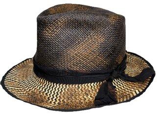 BK×NAmix burned fedora hatの画像