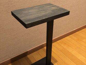 インダストリアル サイドテーブルの画像