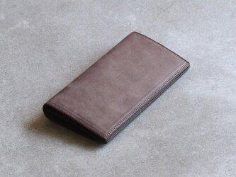 二つ折り長財布 / Taupeの画像