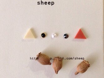sheepの華奢ピアス 5点セットNo④の画像