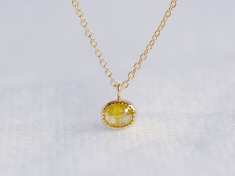 Fennel Flower Diamond Necklaceの画像