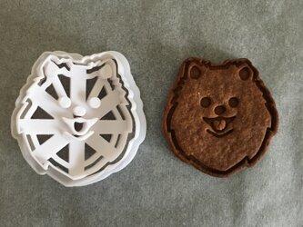 ポメラニアン クッキー 型の画像