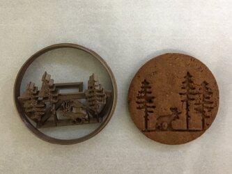 森 クッキー 型の画像