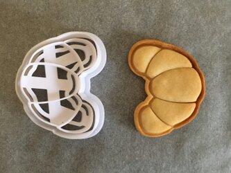 クロワッサン クッキー 型の画像