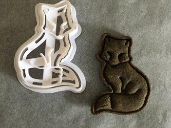 狐 クッキー 型の画像
