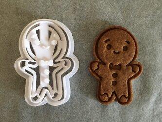ジンジャーブレッド クッキー 型の画像