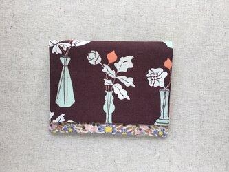 【送料無料】ポケットティッシュケース マスクケース ノスタルジックな花瓶2の画像