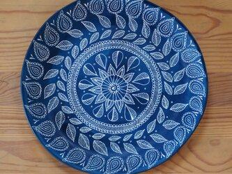 青い大皿(2)の画像