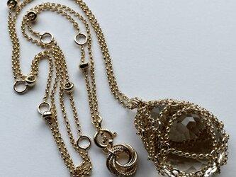 M様♪御予約作品『 Healing light ( abundance ) 』Necklace by K14GFの画像