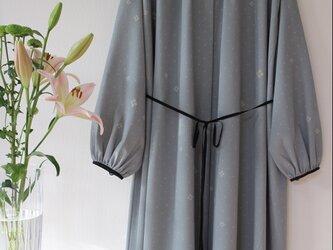 古布 ★着物 羽織にもなる配色ワンピース ★一枚限定の画像