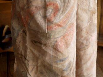 幟旗柿渋染パンツの画像