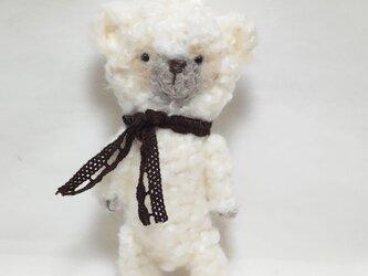 もこもこ白クマさんの画像
