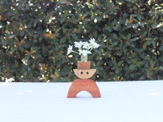 積み木花瓶の画像