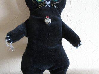 黒ネコのチャームの画像