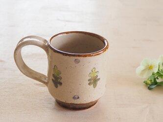 音の鳴るマグカップ「北欧柄 weed 」の画像