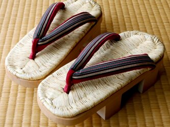 『日光下駄』二枚歯、8寸(約24~25cm)■栃木県の伝統工芸品■手仕事一点物【在庫有り】の画像