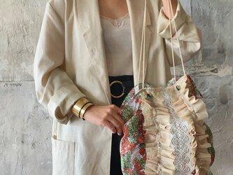 vintage  cloth bag (c)の画像