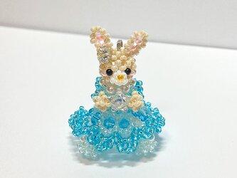お姫様・シンデレラドレス・ウサギ・ビーズドールの画像