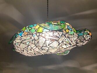 ジュエルナイト『旅するウミガメ』イエローグリーンの画像