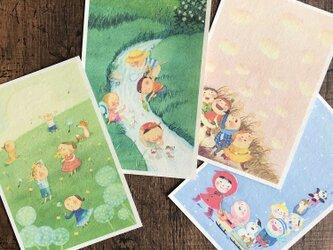 ポストカード『春夏秋冬』4枚セットの画像