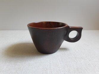 拭き漆のマグカップ5の画像