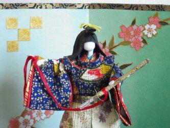 五月人形 太刀 和紙人形の画像
