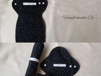 布ナプキン Sサイズ ◇ stardust  1枚の画像