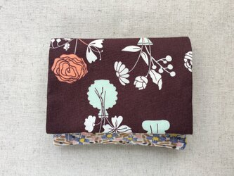 【送料無料】ポケットティッシュケース マスクケース ノスタルジックな花瓶3の画像