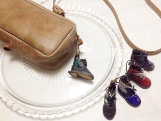 mini靴チャーム:byコビトワークス(BAGと同時購入のお客様用)の画像