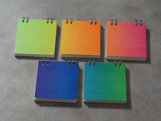 ユートピアノート|All Color Set|活版印刷の画像