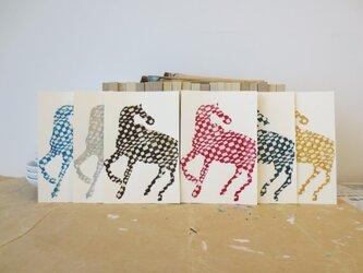 年賀状2014 Check Horse Sixの画像