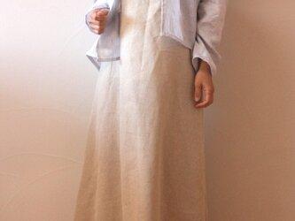 リネン100% 羽織カーデの画像