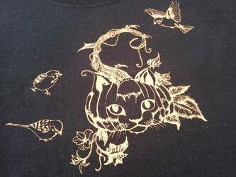妖怪Tシャツ 猫南瓜 / ねこなんきん KIDS の画像