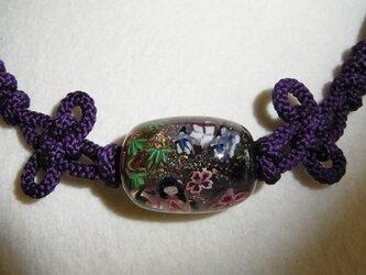 かぐや姫の羽織紐の画像