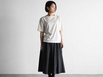 タイプライタークロスロングスカート(スミクロ)【レディス】U402の画像