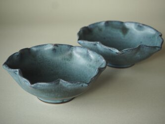 青彩輪花小鉢の画像