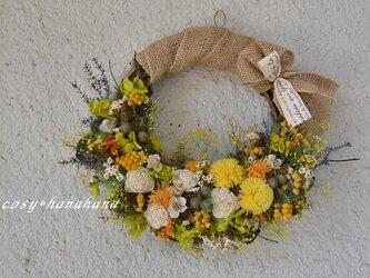 【母の日2021】たんぽぽ陽向wreathの画像