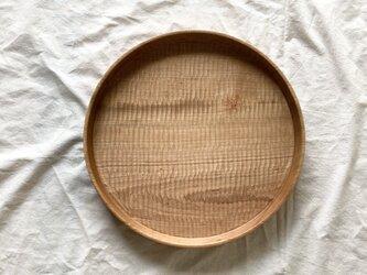 丸盆Bφ30cm(山桜)の画像