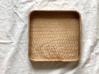 山桜の角盆(L)Aの画像
