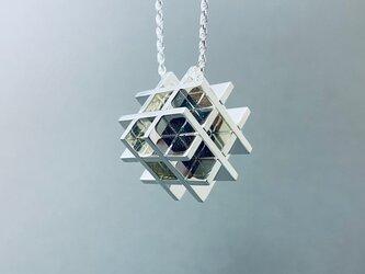 W-Cube Puzzle Pendant Secret Cube L-Size  (Order Production)の画像