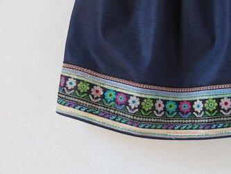 山の民の刺繍スカート~モン族の村からの画像