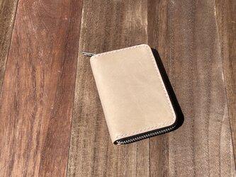 【受注制作】ラウンドファスナーミニ財布の画像