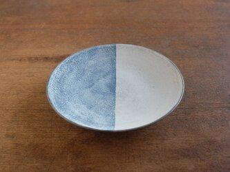 インディゴ 半月6寸皿の画像