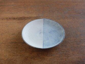 インディゴ 半月4寸皿の画像