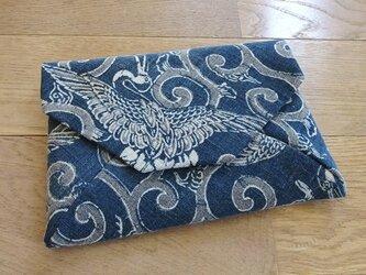 型染木綿の数寄屋袋(壱)の画像